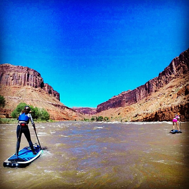 Back home in moab for a bit, running the daily on the Colorado at highwater...spicy!
