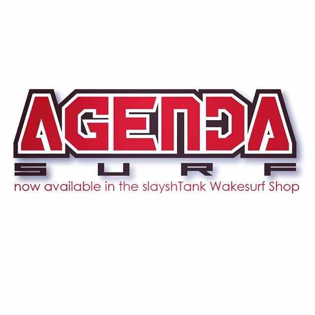 slayshTank is stoked to welcome Agenda Surf to the online store. We will be covering Agenda and their team of pro riders for the 2014 season. See more at slayshTank.com. @agendasurf #agendasurf #theseguysknowtraction #wakesurf #wakesurfing
