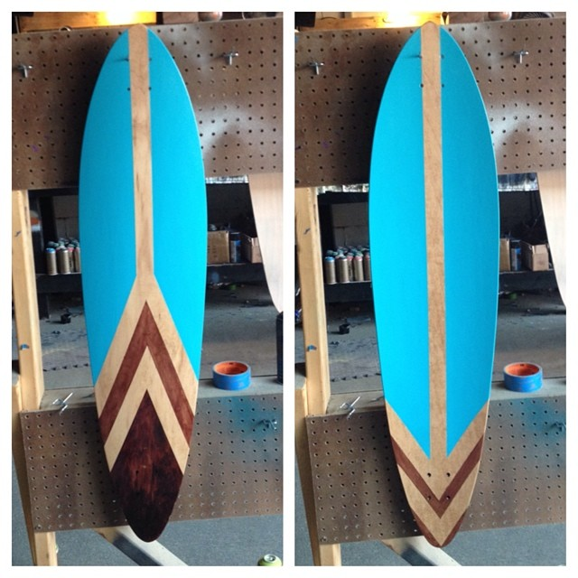 It took a while to finish all the preorder boards but, NEW longboards hitting the website soon! #nashville #skateboard #surfnashville #handmade
