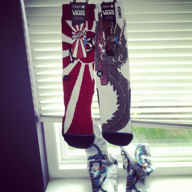 Fathers day rocks. Thx @monprimm for keeping me cool and hip. #stancesocks #vanscollab #hosoi #barbee #caballero