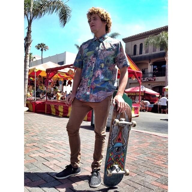 Felo entrenando en California @felisuarez1 #surf #volcomfamily