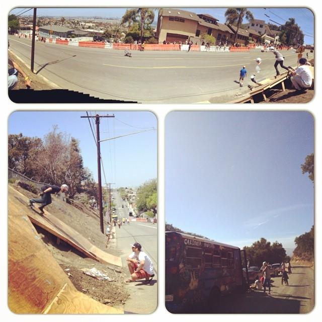 Skate adventures beget skate adventures.  Go skate! Have a sweet time.  #bonzing #sanpedroshred