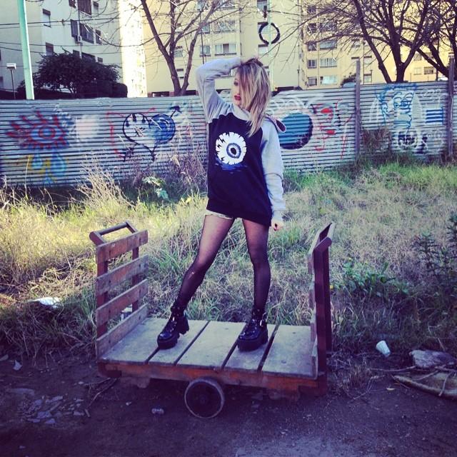 Awake #eye #fashion #design #stamp #hoddie #girl #model #moda #black #lookbook #cool #eye #urbanlife #urbanroach #photos #pixel #pixelart