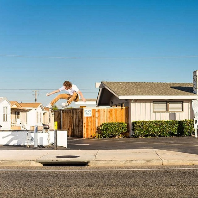 @nickpalmquist goin large with this bump over pole #ollie