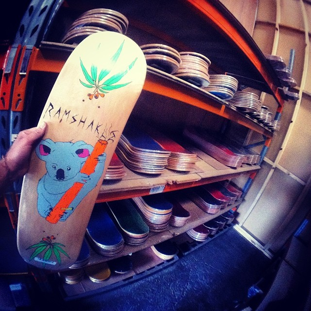 Boards have now arrived in Australia! Stores can hit up @surplusskate dist to #getshakled