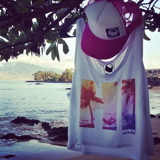 "Ladies HI Minded ""Hammock"" boxy tank top.  #himinded #surfing #surf #maui #hawaii #surfcompany #truckerhat #surfergirl  #beachbabe #beachgirl #hammock #lifeisgood"