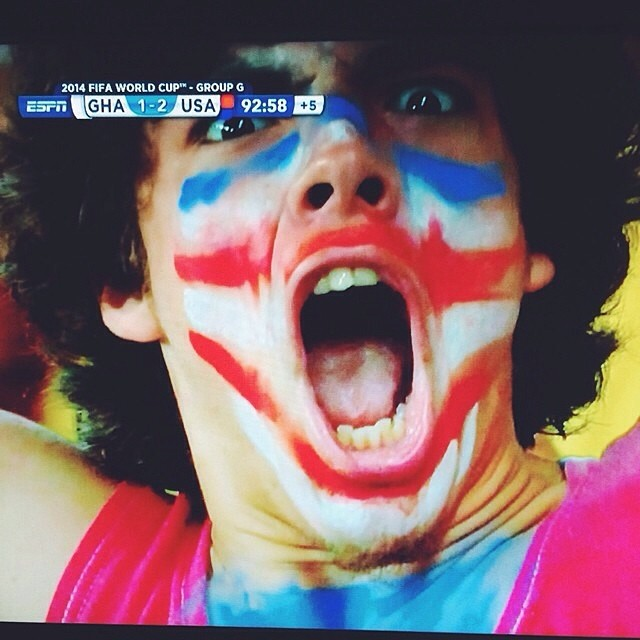 USA USA USA!  Made in the USA! | #plantyoursoul #WorldCup2014 // regram @northerngrade