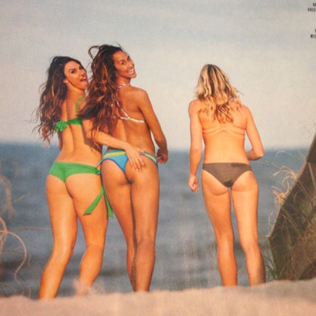 SUP the Magazine's swimsuit issue is out!  We are so proud #miola is featured!  #miolashoot #swimsuitissue #bikini #sup