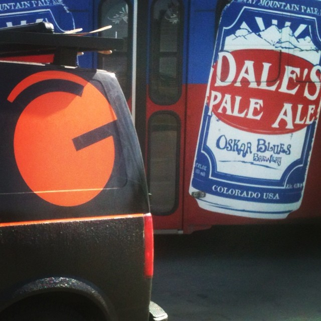 Fill gas tank.. Check.  Fill cooler with @oskarblues...Check!  #summerskiing #beartoothbasin