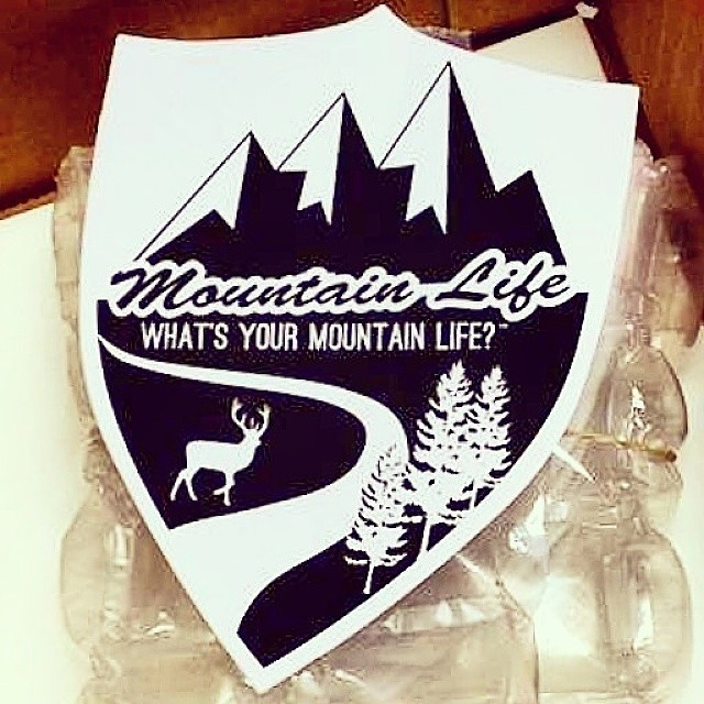 "New #decals are FINALLY here available for sale on our Online store this week GoodPeople.com/themountainlife ""What's Your #mountainlife?"" #alpine #boarding #BMX #backcountry #bonefishing #biking #bouldering #colorado #climbing #downhill #Europe..."