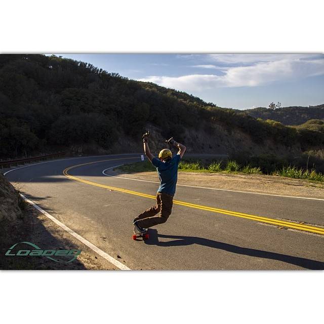 @jnbcollective shredding Malibu on a recent visit