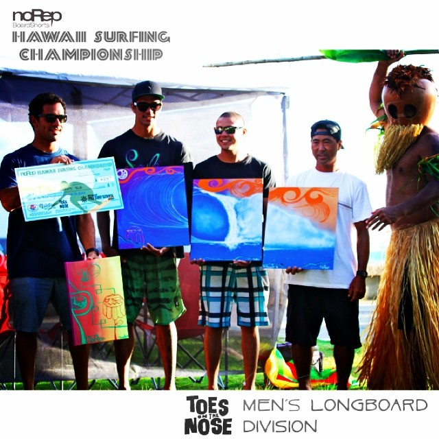 We opened a few more spots for the @toesonthenoseclothing #hawaiisurfingchampionship longboard division this weekend at bowls!! Enter online at hawaiisurfingchampionship.com @surf_garage #rainbowdrivein @jmcsurfboards @surfingthenations