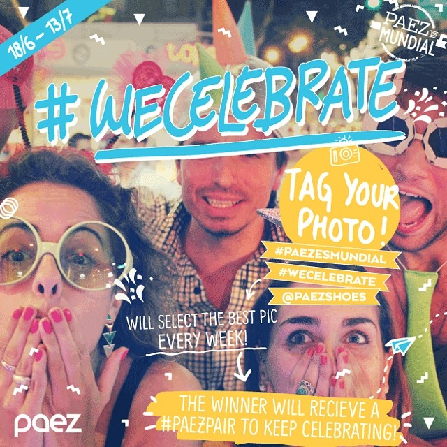 PAEZ CONTEST: During this month share with us how are you celebrating the #worldcup #wecelebrate #paezesmundial #buenaondanaotemfim