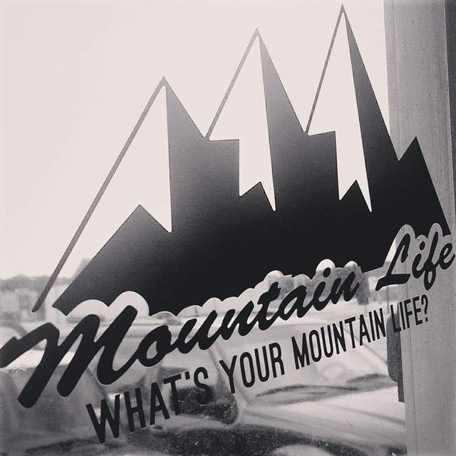 These large 8 inch black #decals will be up on the site tonight! What's Your #mountainlife? #mountainlifeco #mountains #mountaingram #alpine #BMX #boarding #backcountry #biking #bouldering #colorado #climb #climbing #canoeing #camping #cycling...