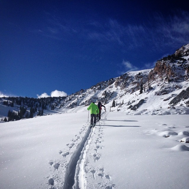 A midsummer night's dream turned into reality. #Powder #skiing @altaskiarea on #June 18...