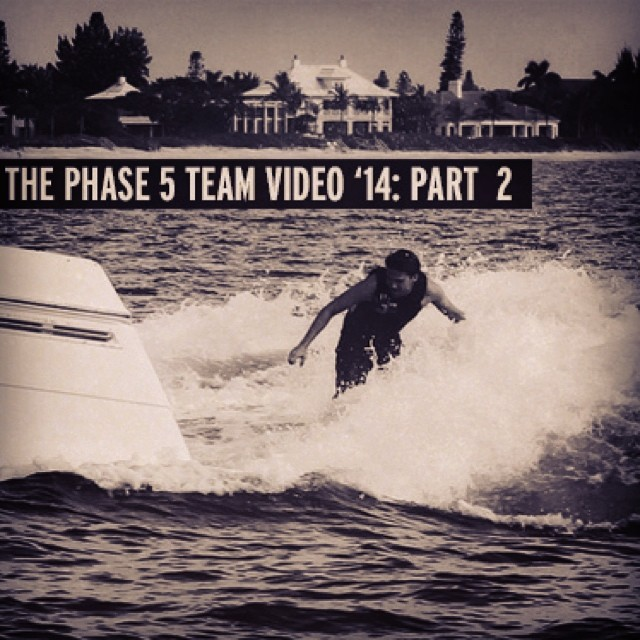 Phase 5 Team Video Part II up at the TANK! Check out daily wakesurfing updates and videos at slayshTank.com @phase5 #wakesurf #wakesurfing
