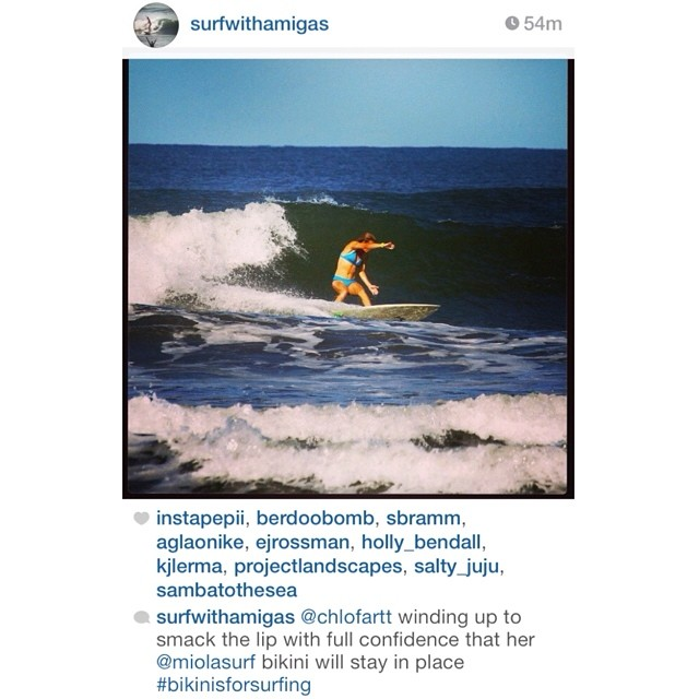 What @surfwithamigas said... #miola #sexybikinisthatstayon #miolainaction #dirtbagdarling #playoutside