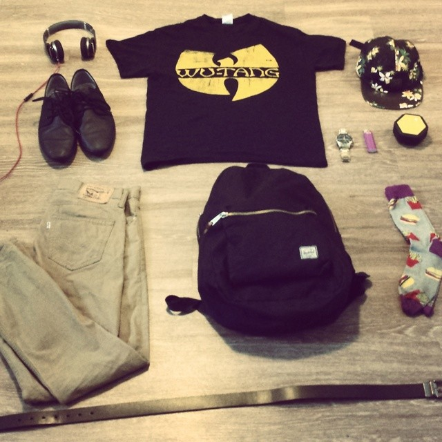 Just another day at the office! #fromtheslums #ootd #essentials #boombotix