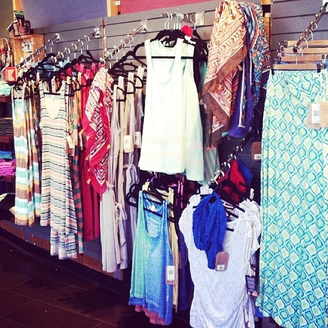 Loving your T4T display @WFMGeorgetown! You look #summer ready with all those dresses! #beach #style #welove #wholebody #eco #organic #fashion