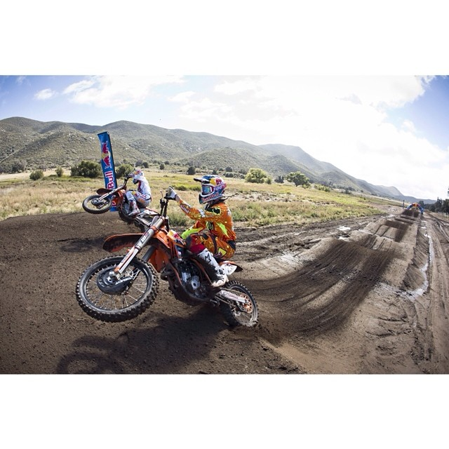 #TBT to that time @therealjs7,@RyanDungey, @marvinmusquin25, @coleseely,@malcolmstewart, @captain891 and Jessy Nelson all rode a half-mile full of rhythms, whoops, and booters like kids in a candy store. Click the link in our profile to get all of the...