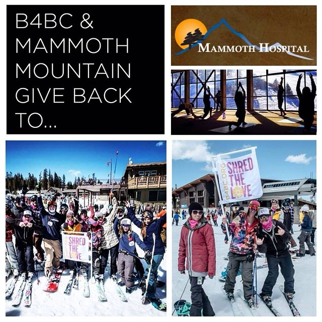 B4BC GIVE BACK WEEK // Mammoth Hospital This winter season, @mammothmountain and the #SoCal action sports community came together for #B4BC's 2nd annual #ShredTheLove #Mammoth event, where we were able to raise important funds for B4BC's education,...