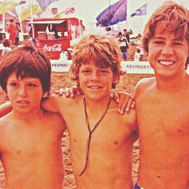 #tbt on the #beach  #mafia riders + founder #born&rise in the water.  @santimassarotti @juankcanale @marcosmafia ✋