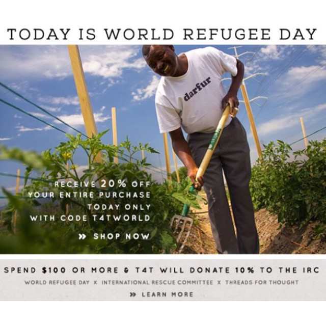 Today is #WorldRefugeeDay! Celebrate the courage of #refugees by joining @theirc and @UnitedNations in supporting the cause! #unitednations #support #goodcause #charitable #un #rescue #worldrefugeeday2014