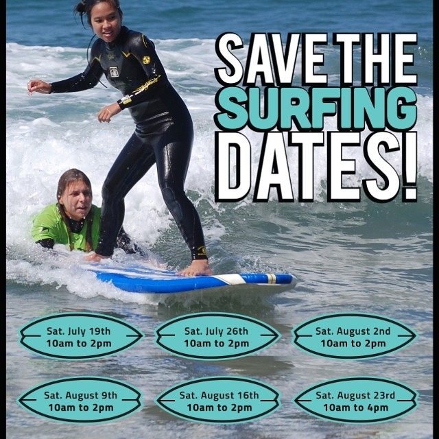 Pssst... Hey NYC and surrounding areas! Surf season is upon us! The only thing better than surfing, is teaching someone how to surf. Sign up to volunteer at -> stoked.org/volunteer & save these dates! #surf #nycsurfing  #rockaways #eastcoastsurf...