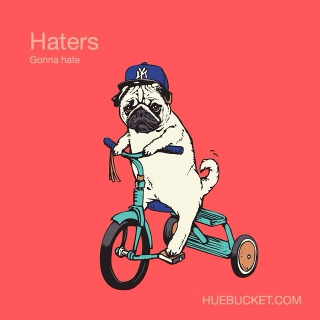 Another Classic Edition. #hatersgonnahate #puglife #boombotix