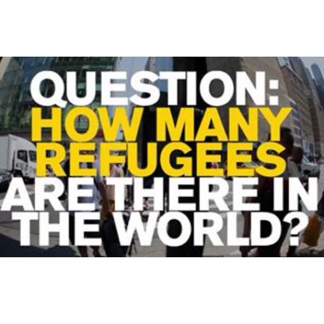 The answer may shock you! Visit @theirc website to educate yourself: www.rescue.org -> Celebrate the courage of #refugees worldwide this #worldrefugeeday! #friday #inspo #dogood #friday #follow #ff #un #unitednations #giveback