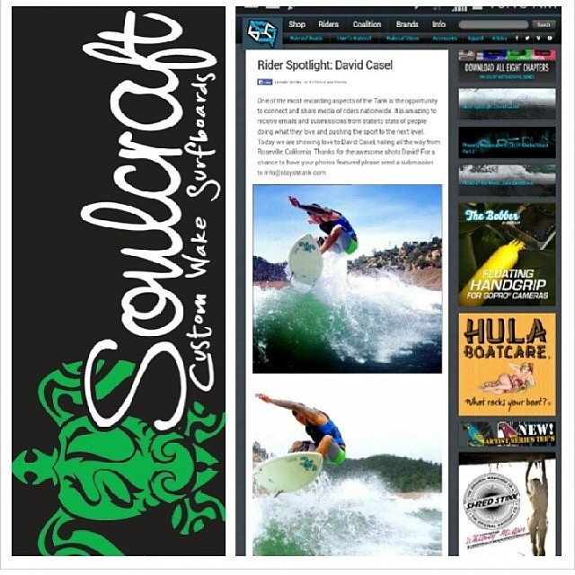 Rider Spotlight featuring David Casel and SoulCraft now up at the Tank. Check out daily updates, photos and wakesurfing videos at slayshTank.com. @soulcraftboarding #wakesurf #wakesurfing #keepitfresh