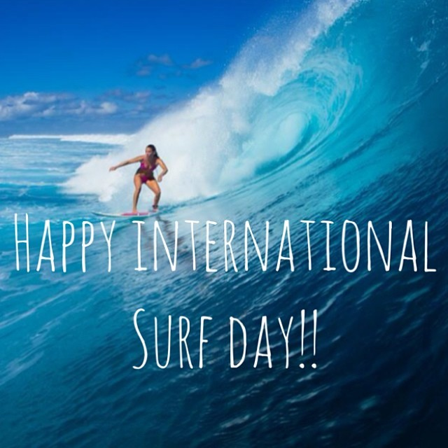 #Happy #International #Surf #Day from @alisonsadventures @hisarahlee and @odinasurf!  We have two #bikini give always going right now! One with an #alisonsadventuresodina #pink #bikini be sure to repost, follow and tag @alisonsadventures @odinasurf and...