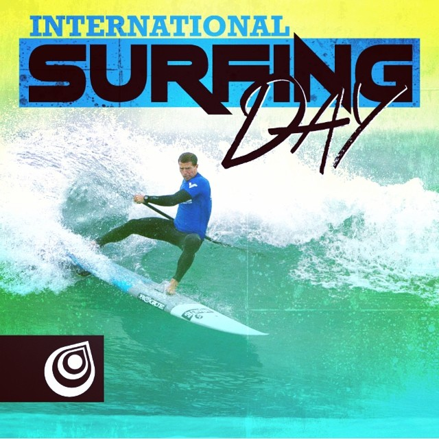 HAPPY INTERNATIONAL SURFING DAY. Time to cash in one of those sick days #summer #surfing #goodvibes #goodpeople @joshriccio