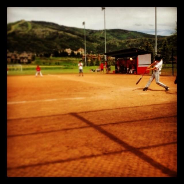 #steamboat #foul #proudpapa #baseball #altitude