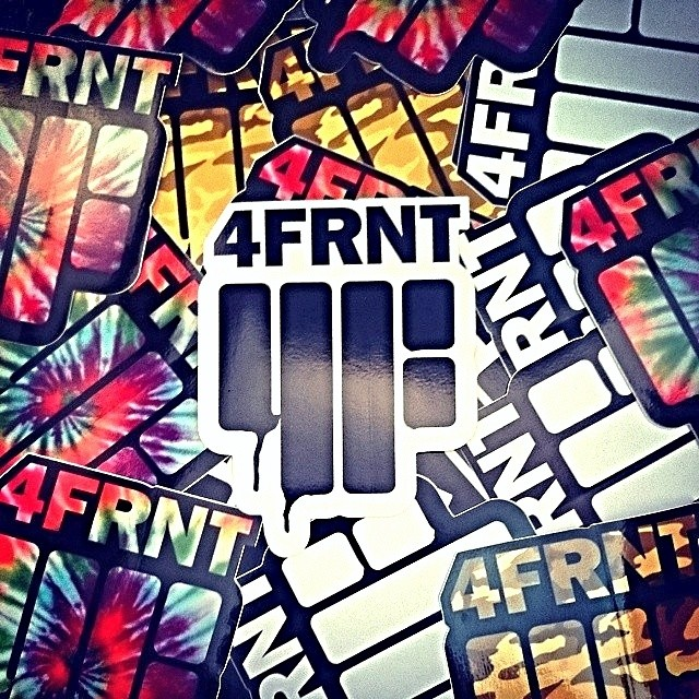 Need some stickers? @4frnt_aus has the right idea. No matter where you live you can order a sticker pack at www.4frnt.com or send a SASE to 4FRNT Skis attn: sticker bitch 2900 S West Temple SLC, UT 84115 #riderowned