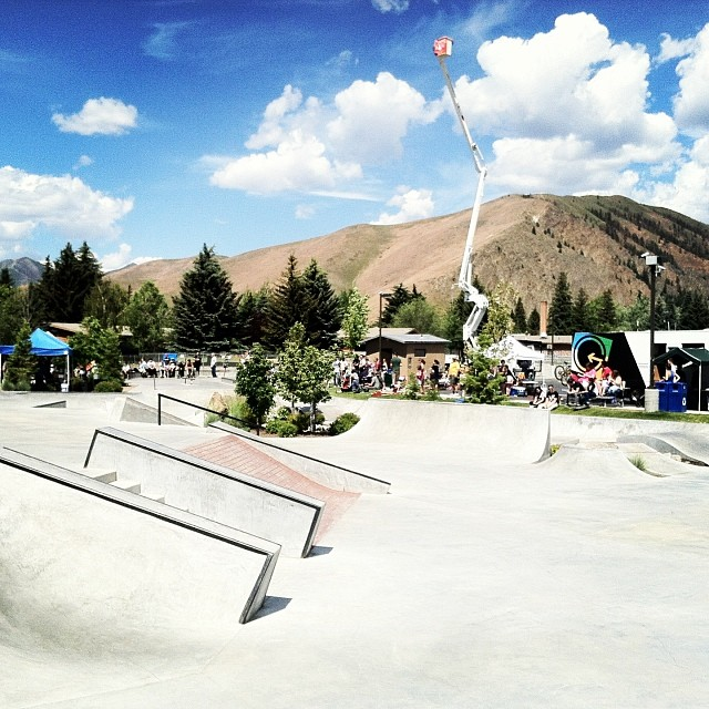 Beautiful day down in Hailey for the Skate comp! Come watch the local rippers do what they love ! #phgb #givesyoupurpose