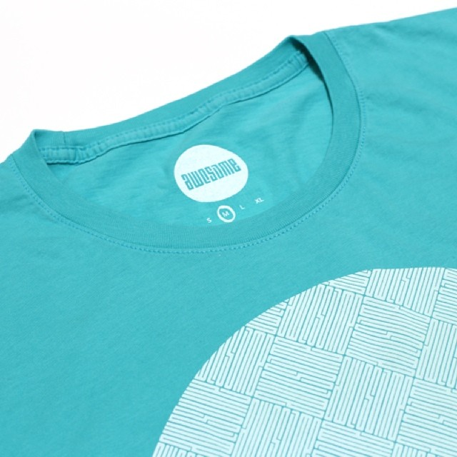 fullcircle tee in aqua #awesome #tees