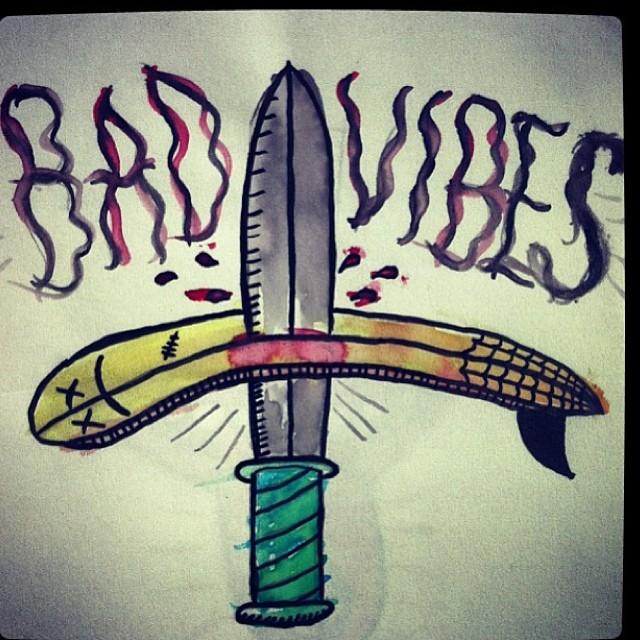 Bad vibes ✌✊