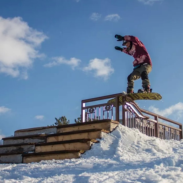 Smokin snowboards wants to welcome @juicy__g__ to our Team. Stoked to have you on board #GarrettMckenzi #youngblood #forridersbyriders #handmadelaketahoe #OK #smokinhooligan