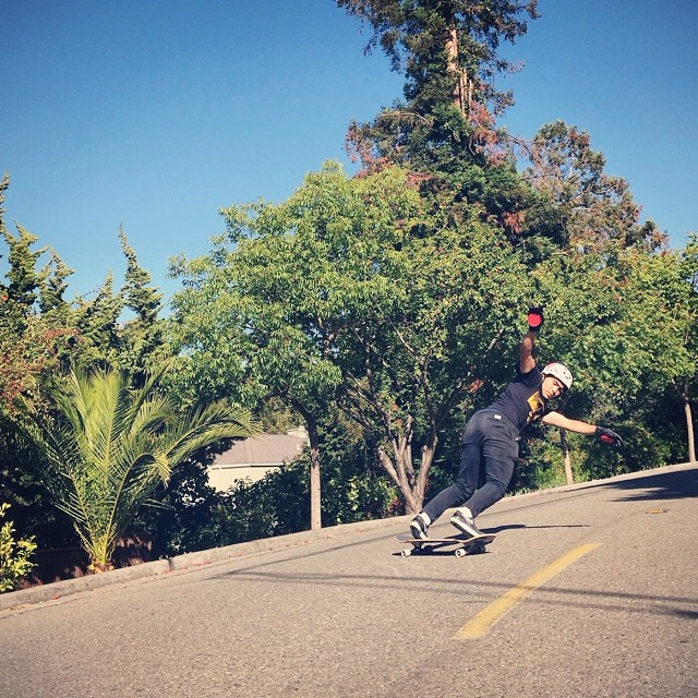 @Tomio93 gettin some switch backside action on a local east bay run. PC: @liam_lbdr_