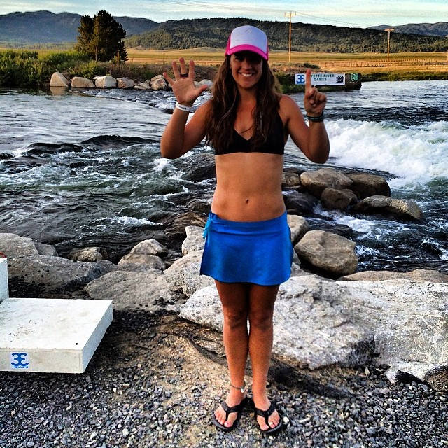 6th place overall at the #payetterivergames! So stoked to end my 1st sup river race season with this awesome accomplishment! Can't wait to train hard next year and have a killa comback! My nickname growing up, #comebacknat. Watch out world!