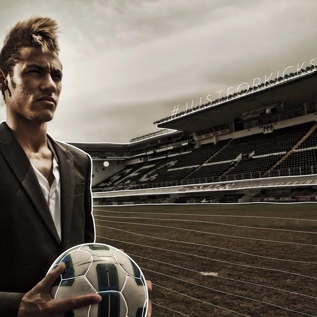 Straight up baller. @neymarjr #justforkicks  Photo by Jürgen Skarwan.
