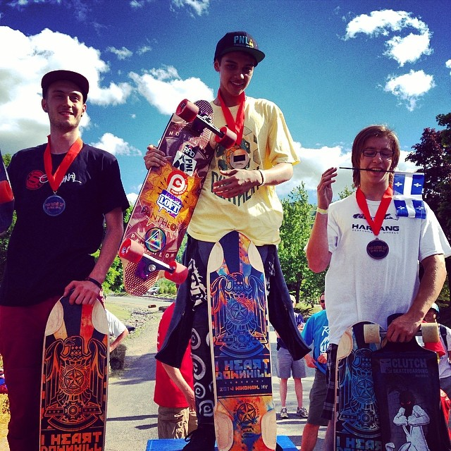 Expert podium #ilovedh2014 1-David Ramirez 2-Eric Chernushenko 3- Francis Bourguignon