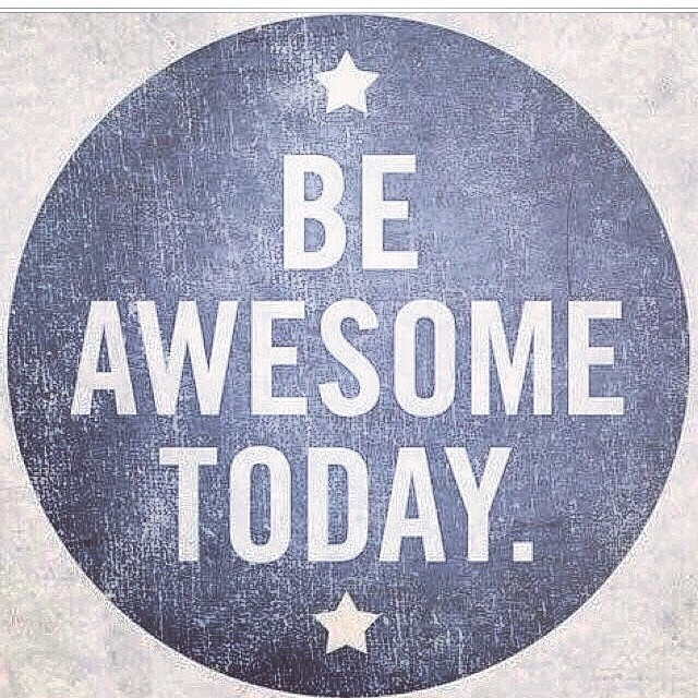 We know you already are but - just in case you needed a reminder to be your awesome self. #beawesome #staystoked #happymonday
