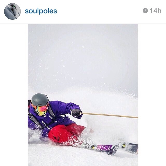#regram from our good friends, @soulpoles | Visit www.soulpoles.com and get a pair of @peltski (Conor Pelton) signature #highfivesfoundation poles