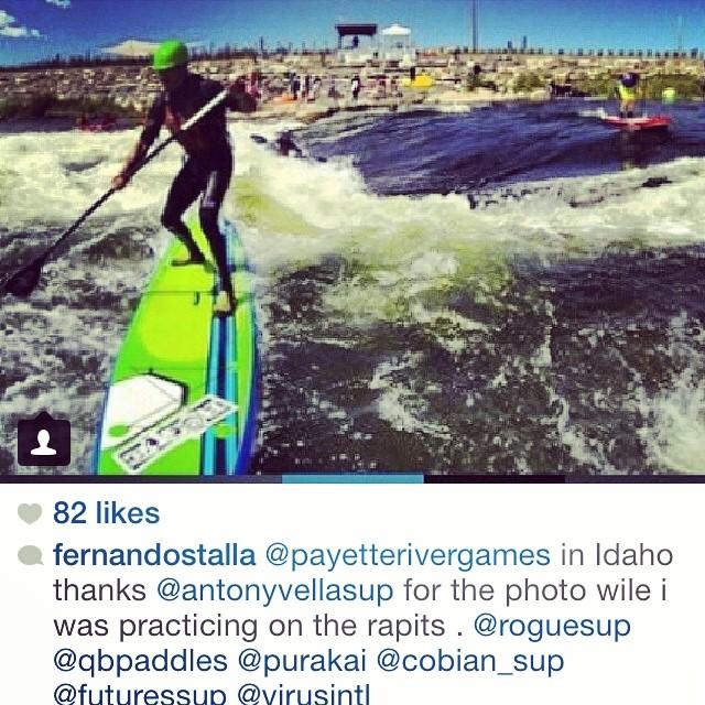 OCEAN meets RIVER @fernandostalla #payetterivergames2014