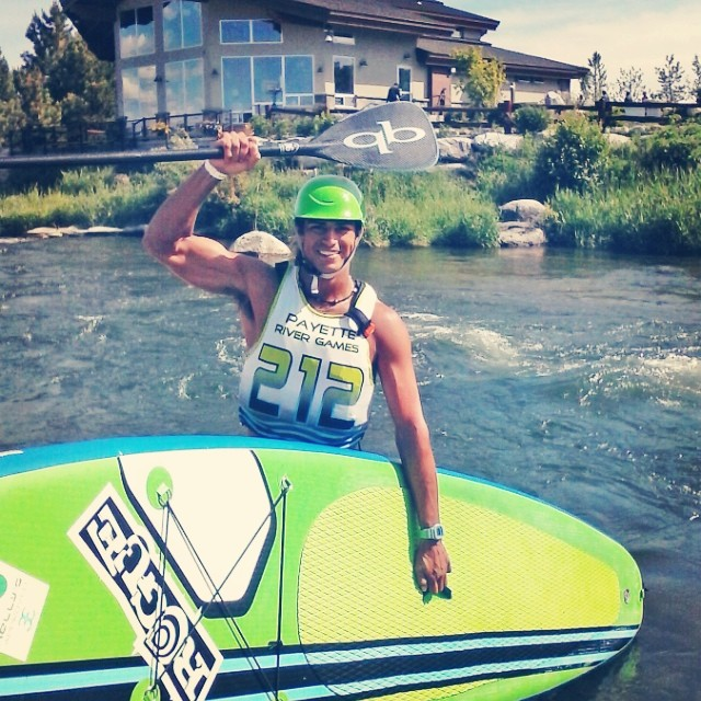 What an EPIC win this weekend for @fernandostalla. 1st Place Overall for this year's Payette Games in the beautiful Cascade, Idaho against a STACKED FEILD of the most Elite riders in the Sport!!!! JUST GOES TO SHOW… Ocean boys can play on the rapids...