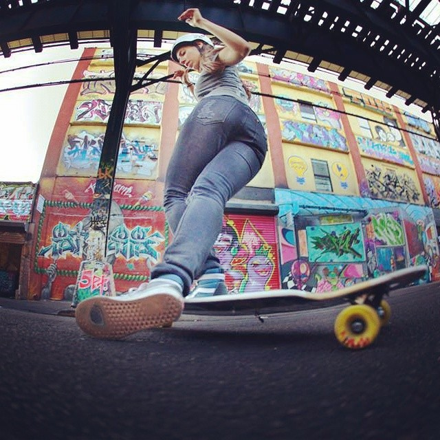 Happy bday to our Managing Director @valeriakechichian !!! Working for women in Action Sports is her life. #longboardgirlscrew #girlswhoshred