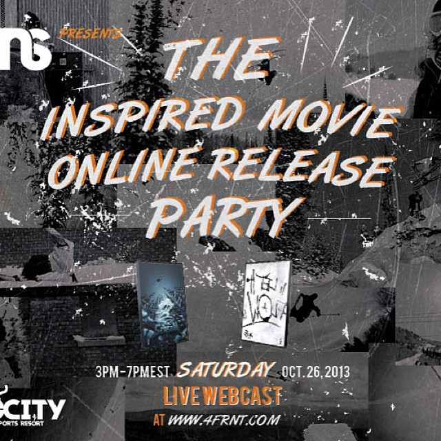 Wanna see CRJ? Join us tomorrow for the FREE Inspired Media Release Party #riderowned