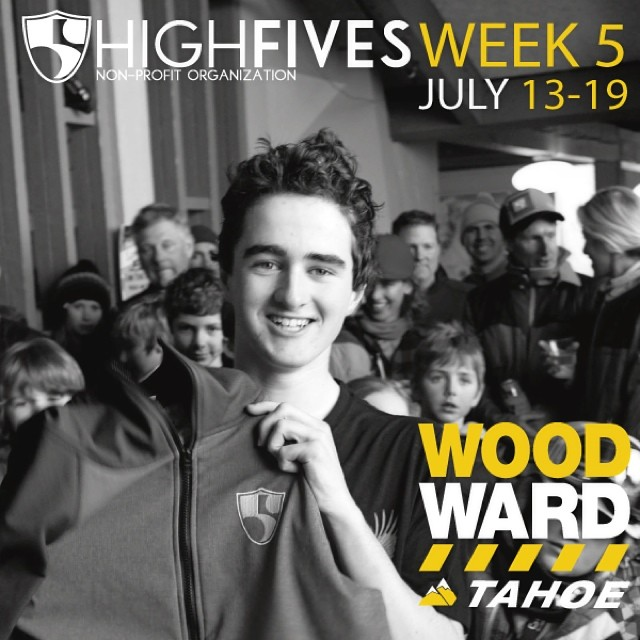 The #High5ives @woodwardtahoe Summer Camp Week 5 is July 13-19th! Register TODAY for the best week of the summer. Use promo code: FIVES14 and $50 will be donated to the Foundation! (woodwardtahoe.com) #wwtweek5 #woodward2014